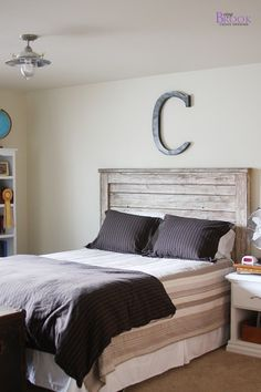 BeingBrook: Teen Boy Bedroom Update {Light Fixture}