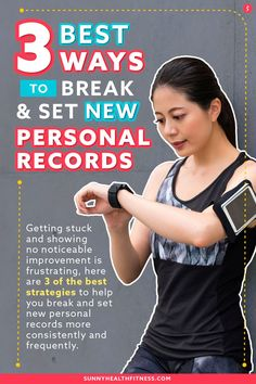 Getting stuck and showing no noticeable improvement is frustrating, so please allow me to introduce 3 of the best strategies to help you break and set new personal records more consistently and frequently. #sunnyhealthfitness #training #trainingtips #fitnesstips #healthytips #personalrecord Health And Fitness Articles, Fitness Tips, Health And Wellness, Health Fitness, Stages Of Sleep, High Intensity Training, Group Fitness Classes, Overhead Press, Training Day