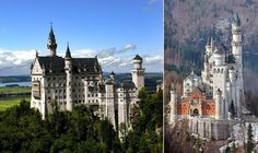 Neuschwanstein Castle, the inspiration for Sleeping Beauty's Castle, one day I will visit it.