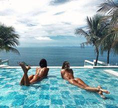 Summer vibes uploaded by trendents on We Heart It The Beach, Beach Girls, Summer Beach, Ocean Beach, Summer Pictures, Beach Pictures, Vacation Pictures, Summer Vibes, Best Friend Goals