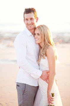 Vicki and Luke's Beautiful Cable Beach Wedding