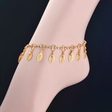 24K Real Gold plated Bohemian Ankle Bracelet- 51% OFF