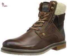 311179521500, Desert Boots Homme, Marron (Mid/Brown 6400), 43 EUBugatti