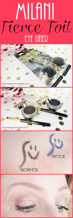 Notes from My Dressing Table: Milani Fierce Foil Eye Liner | Review