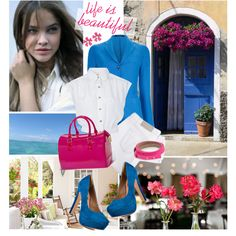Life is beautiful!, created by cellophaneflower on Polyvore