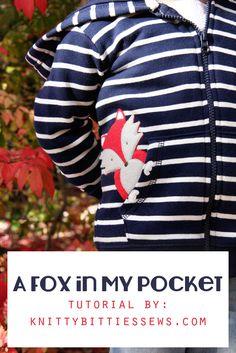 A Fox in My Pocket // DIY