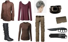 Carol Peletier Costume from The Walking Dead