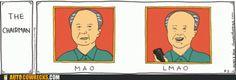 Autocowrecks: Mao Appreciates a Good Joke