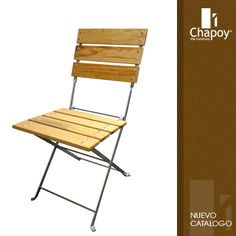 Grupo Chapoy - #muebles de #diseño para hoteles, restaurantes, bares. #silla Folding Chair, Furniture, Home Decor, School Furniture, Bar Tables, Bar Chairs, Trash Bins, Decoration Home, Room Decor