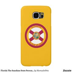 Florida The Sunshine State Personalized Flag Samsung Galaxy S6 Cases