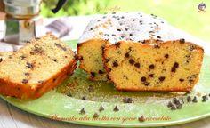 Plumcake alla ricotta con gocce di cioccolato-ricetta dolci-golosofia