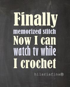 Either that or I now know the stitch count for the next three rows so I can watch tv, then quick repeat the process.