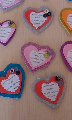 Easy Valentine Crafts for Kids to Make Valentine Cards To Make, Valentine Crafts For Kids, Crafts For Kids To Make, Mothers Day Crafts, Valentines Diy, Diy And Crafts, Diy Valentine's Cards For Him, Tarjetas Diy, Heart Crafts