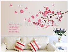 Mural Coloré Chenille Extension set 1 la fresque Sticker Déco deco