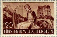 Sello: Landscapes (Liechtenstein) (Landscapes) Mi:LI 168,Yt:LI 151,Zum:LI 138