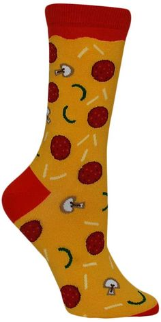 Pizza Toppings Socks from The Sock Drawer