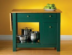 Free Kitchen Island building project from Popular Mechanics Magazine.