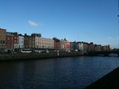 Dublin, Ireland  I've been there....believe it's the River Liffy.....Oh, I wish I could go back!