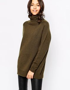 Image 1 of Sessun Dartmouth Knit Rollneck in Khaki