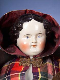 German China Shoulder Head Doll | Sale Number 2383, Lot Number 751 | Skinner Auctioneers