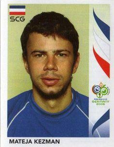 Image result for germany 2006 panini Srbija kezman Football Stickers, Fifa World Cup, Ms, Germany, Soccer, Image, World Cup, Futbol, European Football