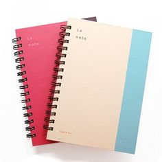 Spring Grid/Lined Notebook