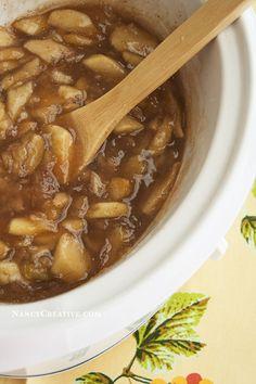 Ann's Slow Cooker Apple Pie Filling @ NancyC