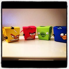 Angry Birds inspired Party Favor Takeout by JaysPartyCreations, $30.00