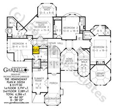The southfork a house plan for gainesville ga house for Southfork ranch house floor plan