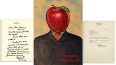 Mr. Apple by Norman Rockwell