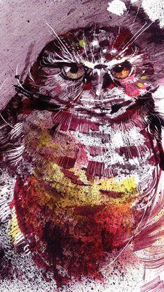 'Owl' by Ivan Stojkovic
