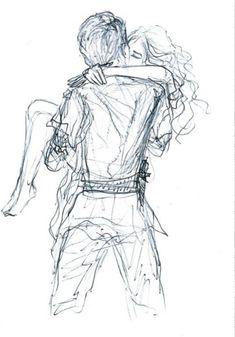 Peter Pan Ouat, Robbie Kay Peter Pan, Peter Pan Disney, Couple Sketch, Cute Couple Drawings, Art Drawings Sketches, Disney Drawings, Peter Pan Drawing, Dibujos Zentangle Art