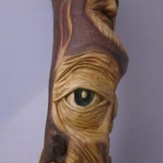 This is a post about the carvings I do and collectively call a carving doodle. So what do I mean when I say I& doing a carving doodle, wel. Wood Carving Faces, Dremel Wood Carving, Wood Carving Designs, Wood Carving Patterns, Wood Carving Art, Hand Carved Walking Sticks, Wooden Walking Sticks, Walking Sticks And Canes, Walking Canes