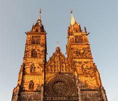 St. Lorenzkirche in der südlichen Altstadt, Nürnberg