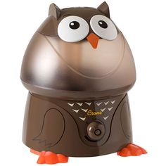 Kids Room Design Ideas: The whisper-quiet operation won't disturb sleep while the darling design adds a playful touch to the room. Crane Cool Mist Humidifier - Owl