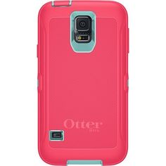 Otterbox Defender Series for Samsung GALAXY S5 - Retail Packaging - Blaze Pink / Aqua Blue - http://www.rekomande.com/otterbox-defender-series-for-samsung-galaxy-s5-retail-packaging-blaze-pink-aqua-blue/