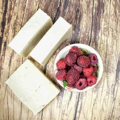 This natural homemade raspberry cold process soap recipe is made with ripe raspberries rich in antioxidants to help prevent and repair skin damage.