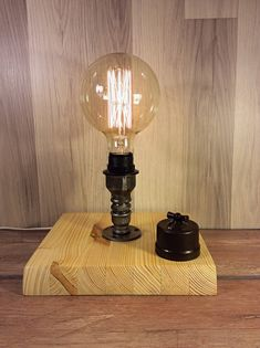 A personal favourite from my Etsy shop https://www.etsy.com/listing/587820057/unique-table-lamp-steampunk-lamp