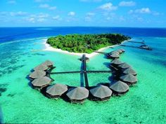 One day...when I get to have a honeymoon (let's hope it'll happen. lol) I want to go here! the Maldives!