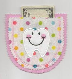 Pockets & Collars :: Felt Tooth Pocket Applique Design