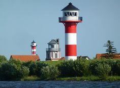 灯台, ビーコン, ナビゲーション, 海の, エルベ川, 昼標です