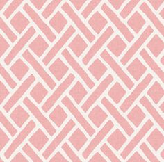 Pink+Geometric+Fabric++Savannah+//+Soft+Coral+By