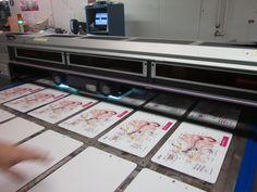 Garyline Factory Visit: Digital Printer