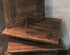 Reclaimed Barn Wood Corbels Hand Hewn Pair