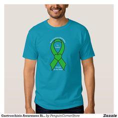 Gastroschisis Awareness Ribbon Name Customizable Tee Shirt