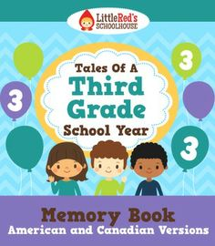 End of the Year Memory Book - Tales of a Third Grade School Year $