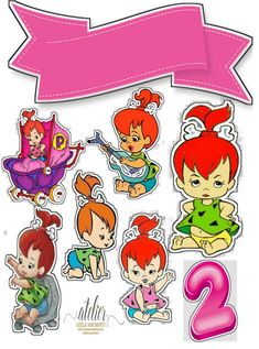 Classic Cartoon Characters, Classic Cartoons, Flintstone Cartoon, Pebbles And Bam Bam, Pebbles Flintstone, Paw Patrol Coloring Pages, Silhouette Cake, Old Cartoons, Aesthetic Stickers