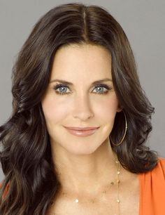 Courteney Cox maquillée