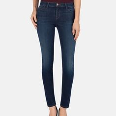 Jbrand skinny jeans Jbrand Storm skinny jeans. Super comfortable and like new condition! Only worn twice. J Brand Jeans Skinny