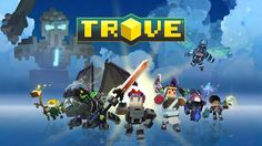 Now available on Xbox One, Playstation Mac, and PC! Trove is a free-to-play voxel-based action MMO set in a massive universe of online worlds. Adventure, explore, and create in endless realms where discovery is always around the corner! Ps4 Games, News Games, Video Games, Playstation, Minecraft, Gaming, Sandbox, Online Games, Play Online
